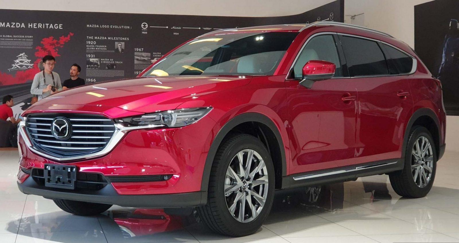 Mazda CX-8 SUV 7 chỗ dự kiến được bán ra tại Việt Nam trong tháng 06/2019