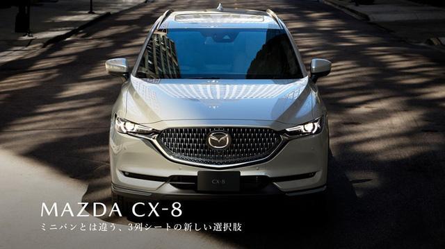 Có Gì Khác Ở Mẫu Mazda CX8 2021 Mới Ra Mắt?