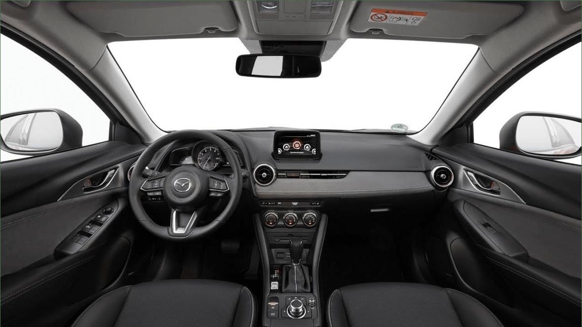 Nội thất Mazda CX3